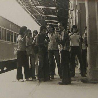 Estação do trem