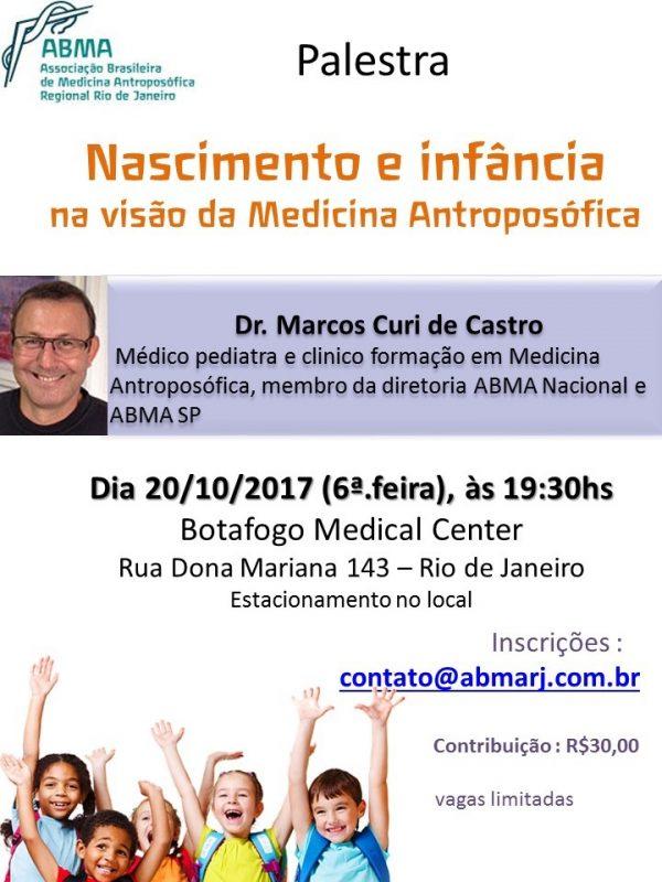 Palestra: Nascimento e Infância na Visão da Medicina Antroposófica